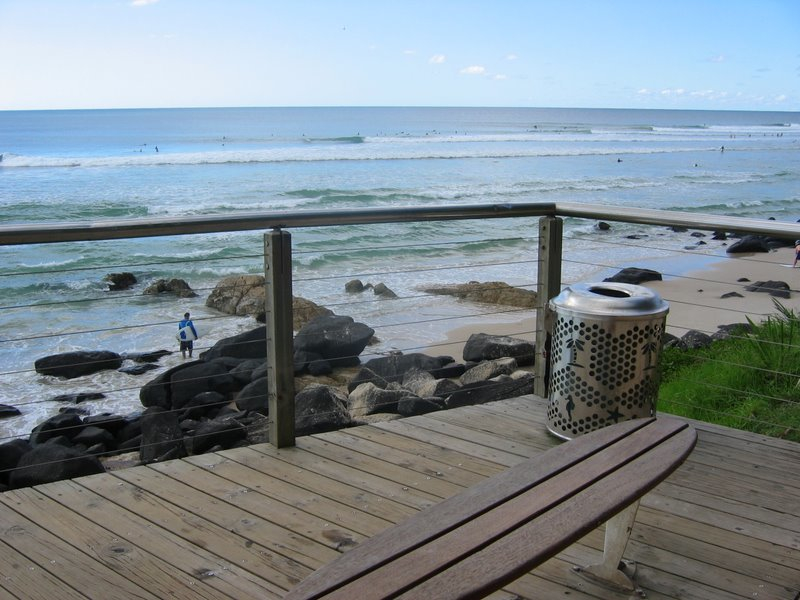 Os 10 Picos de Surf - Snapper Rocks