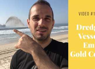 Video #16 - Dredge Vessel Em Gold Coast Austrália