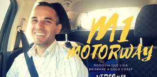 M1 Rodovia Que Liga Gold Coast e Brisbane