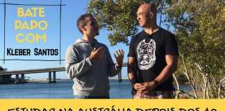 Bate-Papo Kleber Santos - Estudar na Austrália Após os 40 Anos