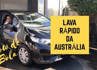 Lava Rápido da Austrália - Lavando o Carro