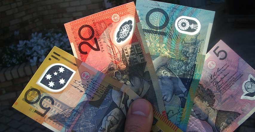 cédulas australianas de plástico