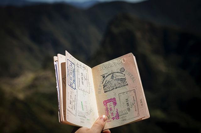 Carimbo Passaporte
