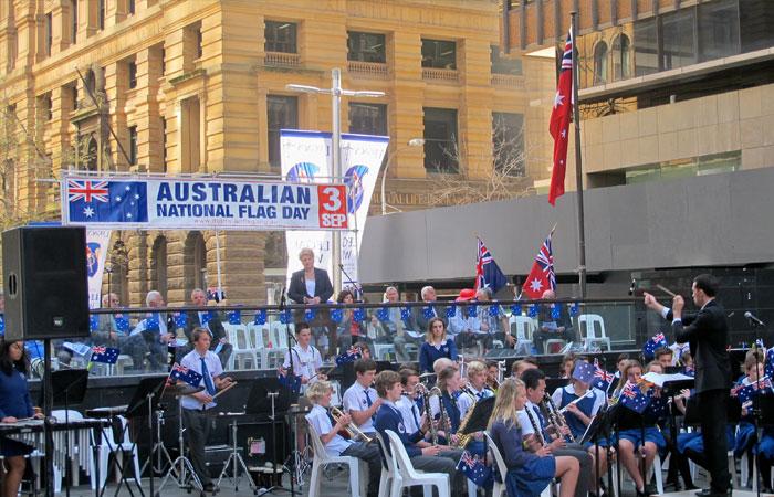 Dia da Bandeira na Austrália