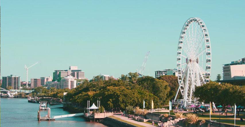 Brisbane uma das principais cidade da Austrália
