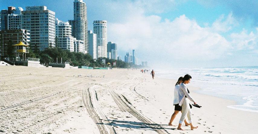 Principal ponto turístico da Austrália para surfistas