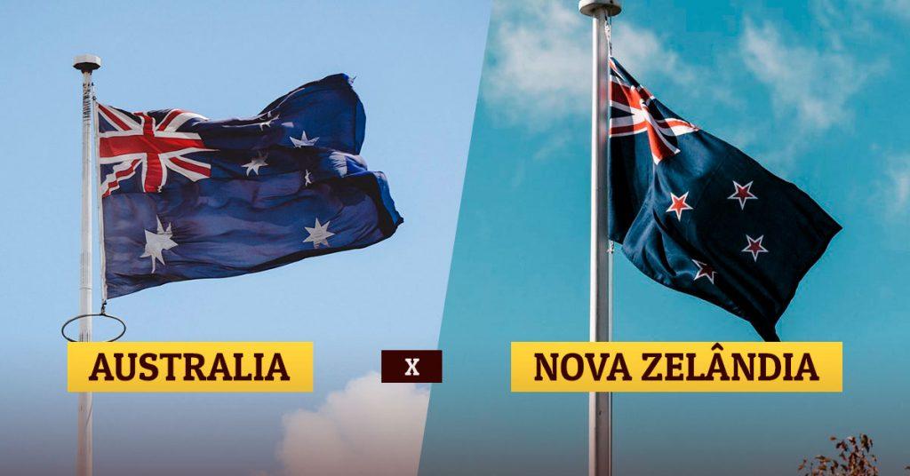 Austrália x Nova Zelândia
