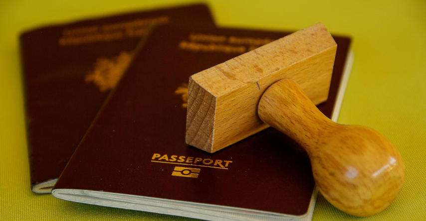 carimbo e passaporte