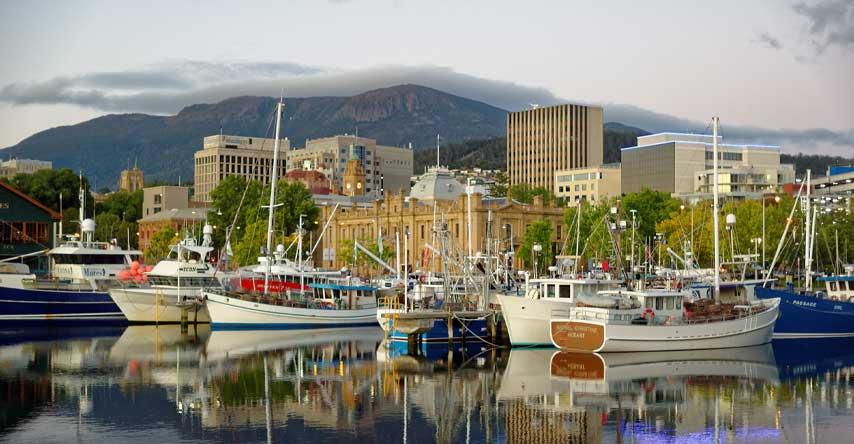 melhores cidades da australia para intercâmbio hobart