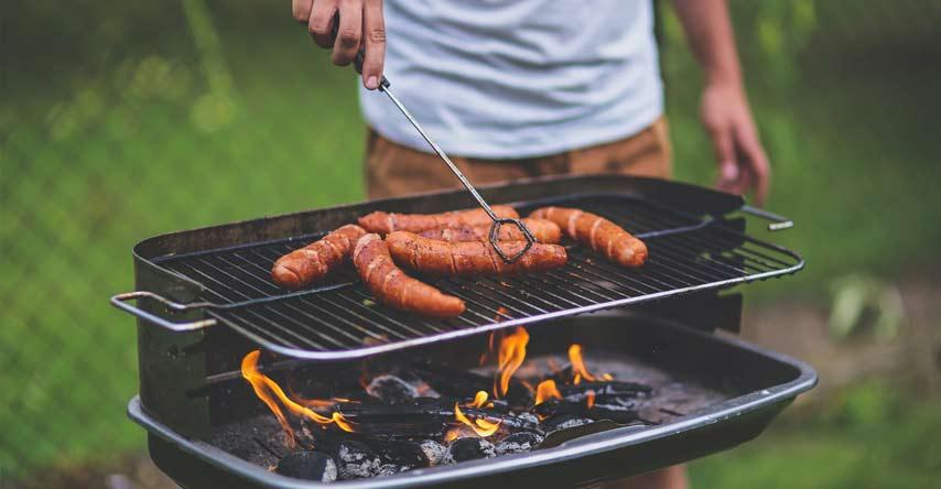 churrascos ao ar livre são costumes da australia