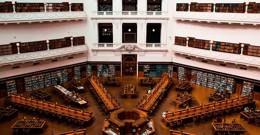 como é morar na australia biblioteca de melbourne