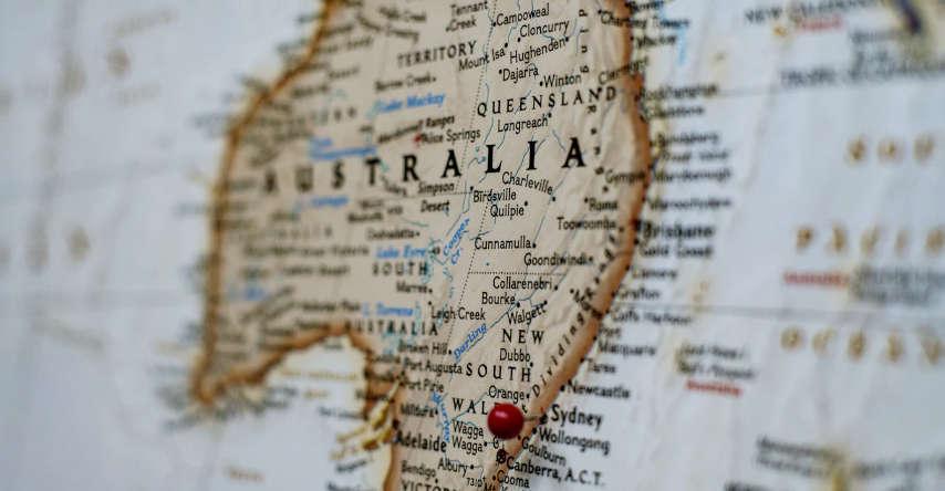 por que não fazer intercambio sem agência mapa da australia