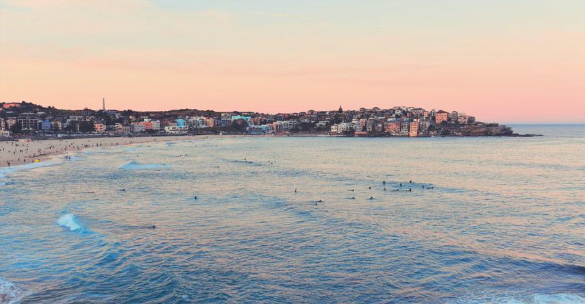 as praias mais bonitas da australia - bondi beach sydney
